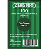Фотография Протекторы Card Pro Perfect fit USA Std для карт Munchkin 58х88мм (100 шт.) [=city]